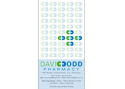 David Dodd Pharmacy, bag design