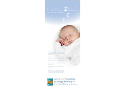 PureZees Pop-Up Banner Display